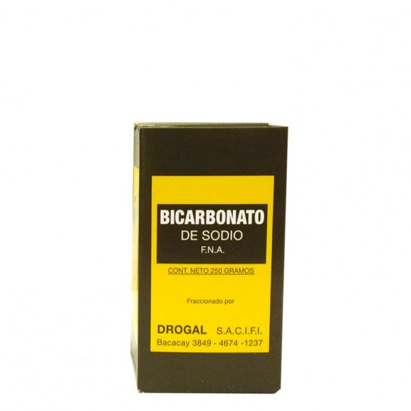 bicarbonato de sodio en caja