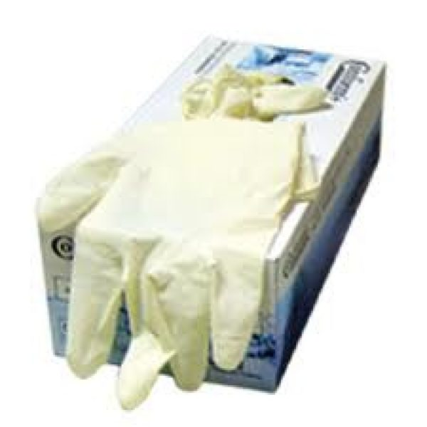 Guantes Descartables de Latex